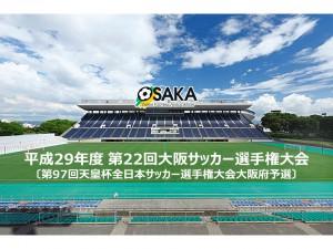 平成29年度第22回大阪サッカー選手権バナー(小)